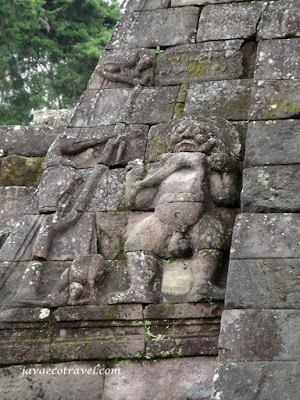 Pictorial Date on Sukuh Temple