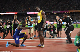 B2 Justin Gatlin Defeats Usain Bolt To Become New World Champion In 100m Sport
