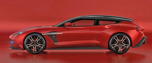 Burlappcar New Zagato Shooting Brake Based On The Aston Martin Vanquish - New aston martin zagato