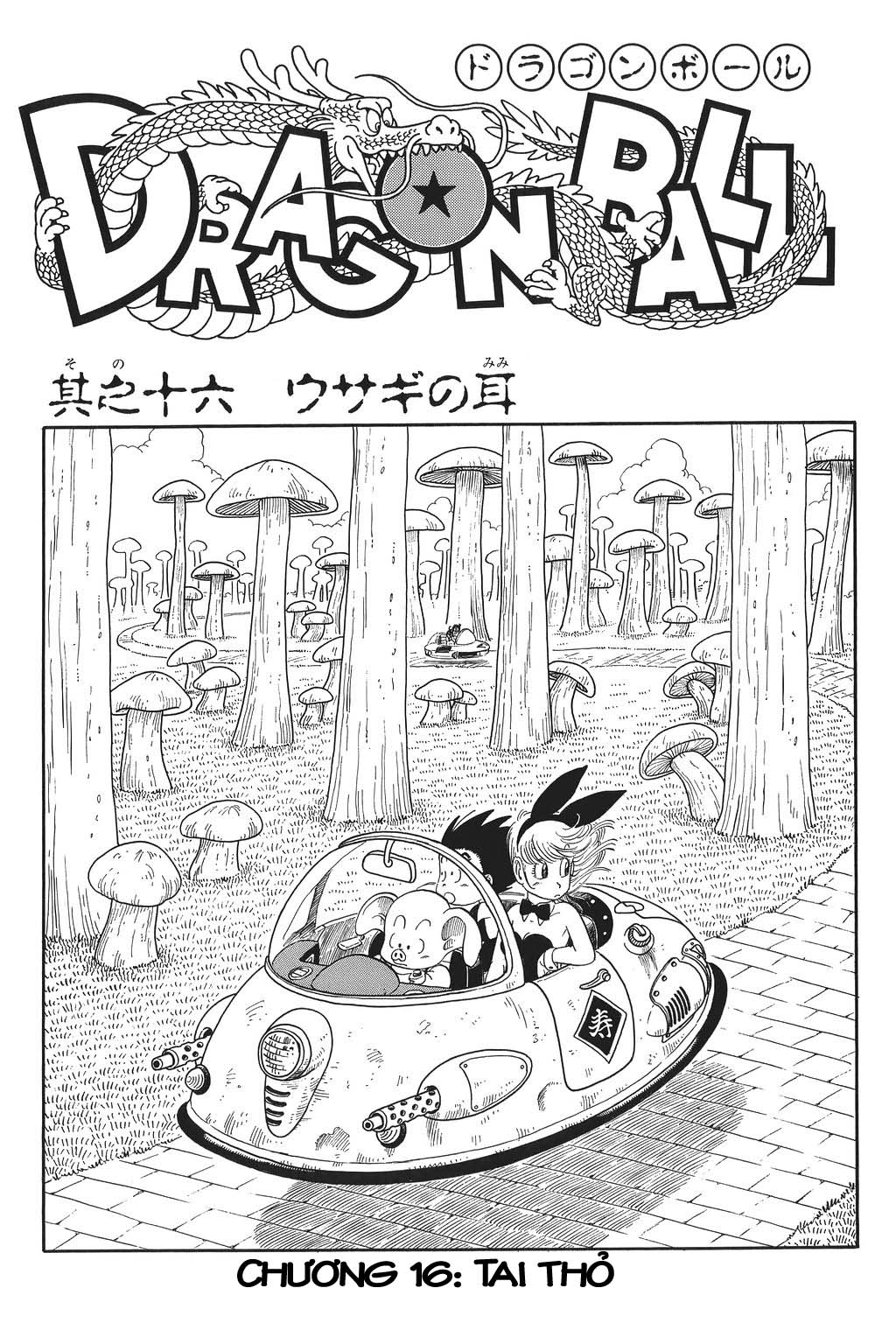 Dragon Ball chap 16 trang 1