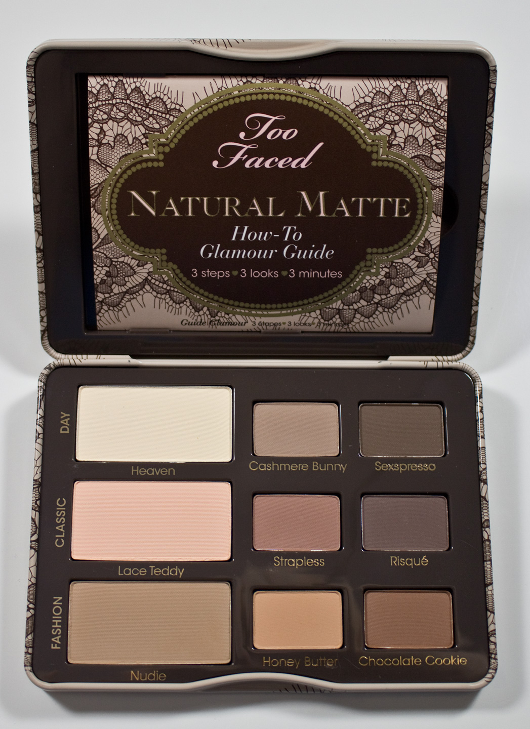 warpaint and unicorns too faced natural matte eyeshadow. Black Bedroom Furniture Sets. Home Design Ideas