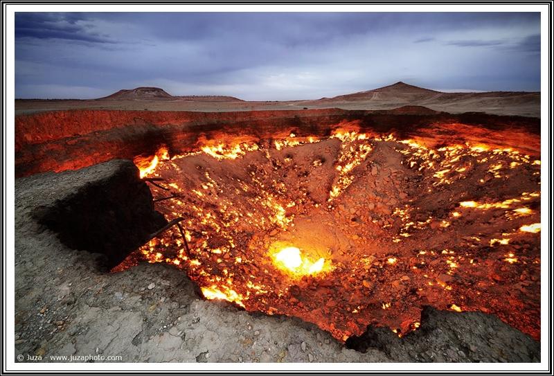 Historias y leyendas: El pozo de Darvaza (La puerta al