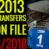 PES 2013 - Option File Latest Transfers 27/08/2018 By Minosta4u