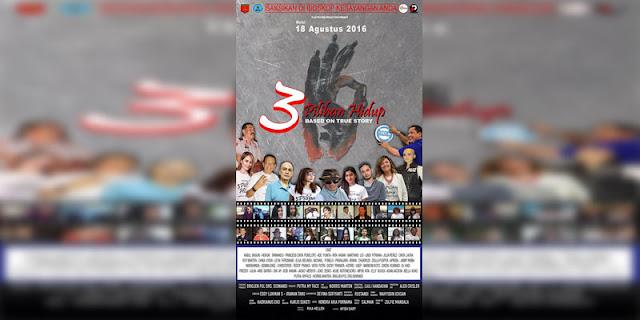 Sinopsis, detail dan nonton trailer Film 3 Pilihan Hidup (2016)