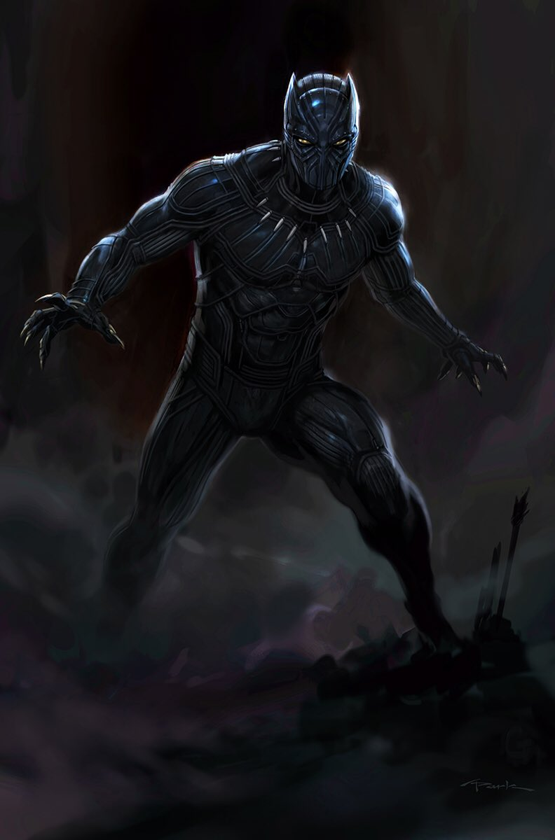 Black Panther Discussion and Appreciation: New Concept Art ...