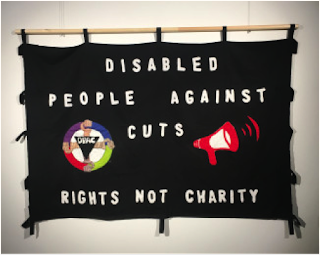 Slogan: People against cuts