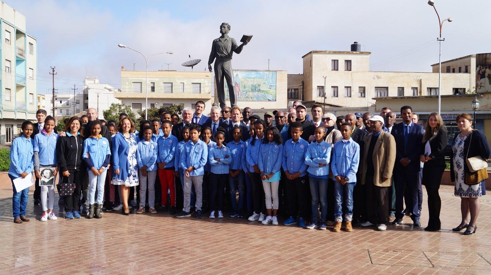 <Memorial Day of Alexander S. Pushkin in Asmara