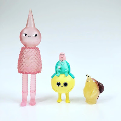 Five Points Festival 2018 Exclusive Pink Bubbly Wizard Vinyl Figure by Sad Salesman