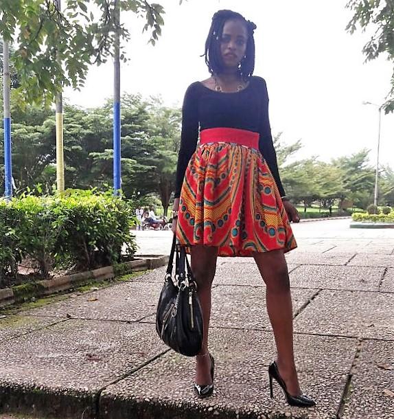 African Ankara Skirt