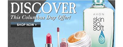 Avon Columbus Day Free Shipping Code