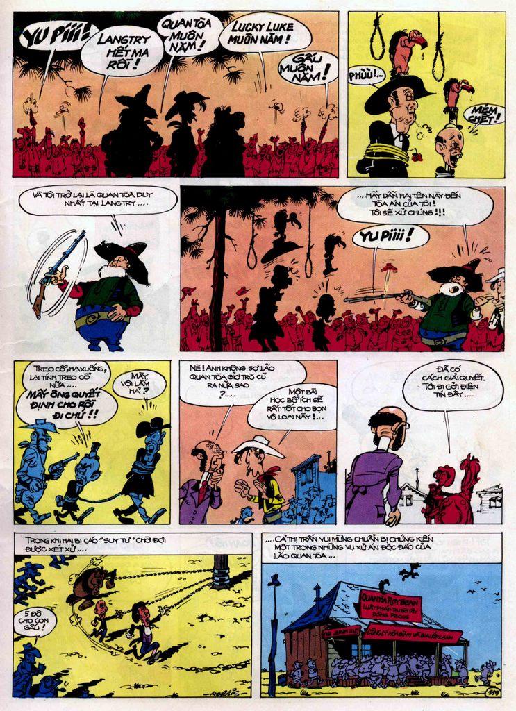 Lucky Luke tập 21 - sợi dây biết hát trang 38