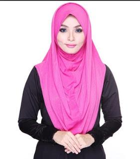 contoh model hijab simple dan praktis 7