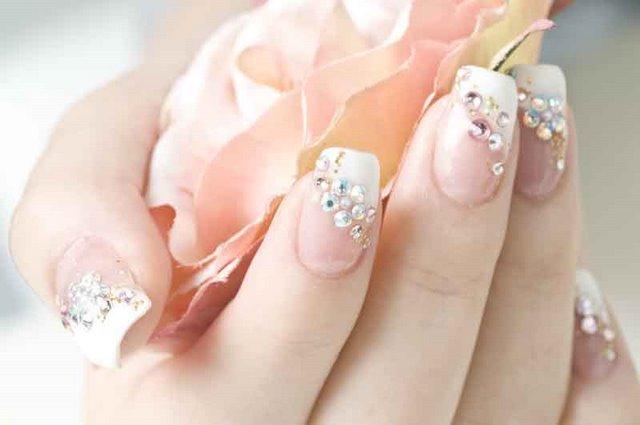 Tip Designs Possibly Wedding Nail Weddbook Bridal Art French