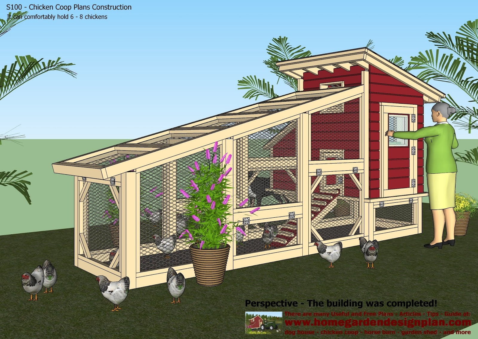 Tell a Chicken coop building instructions ~ nellcolas