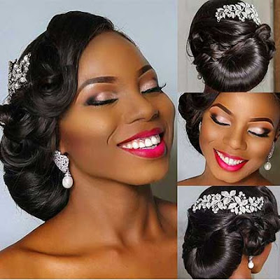 Updo Wedding Hairstyles for Black Women