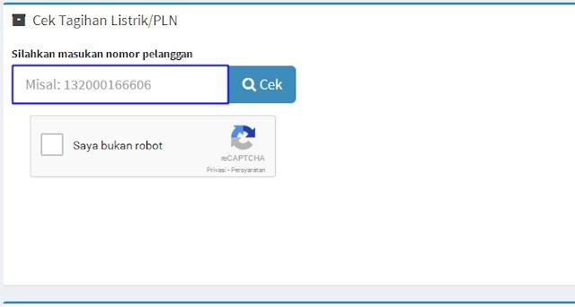 Cek Tagihan Listrik PLN Melalui Internet