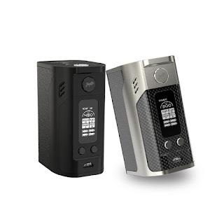 About Authentic Wismec RX300 300 Watt Box Mod