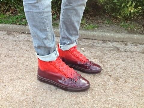 Sneakers Homme Homme Sneakers Balenciaga Rouge Rouge Balenciaga tshrxQdC