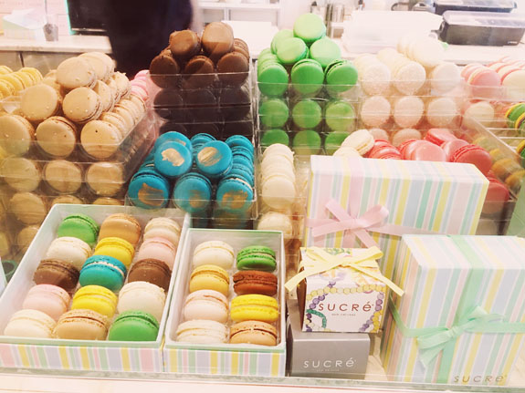 Where to Eat in New Orleans Sucre macarons