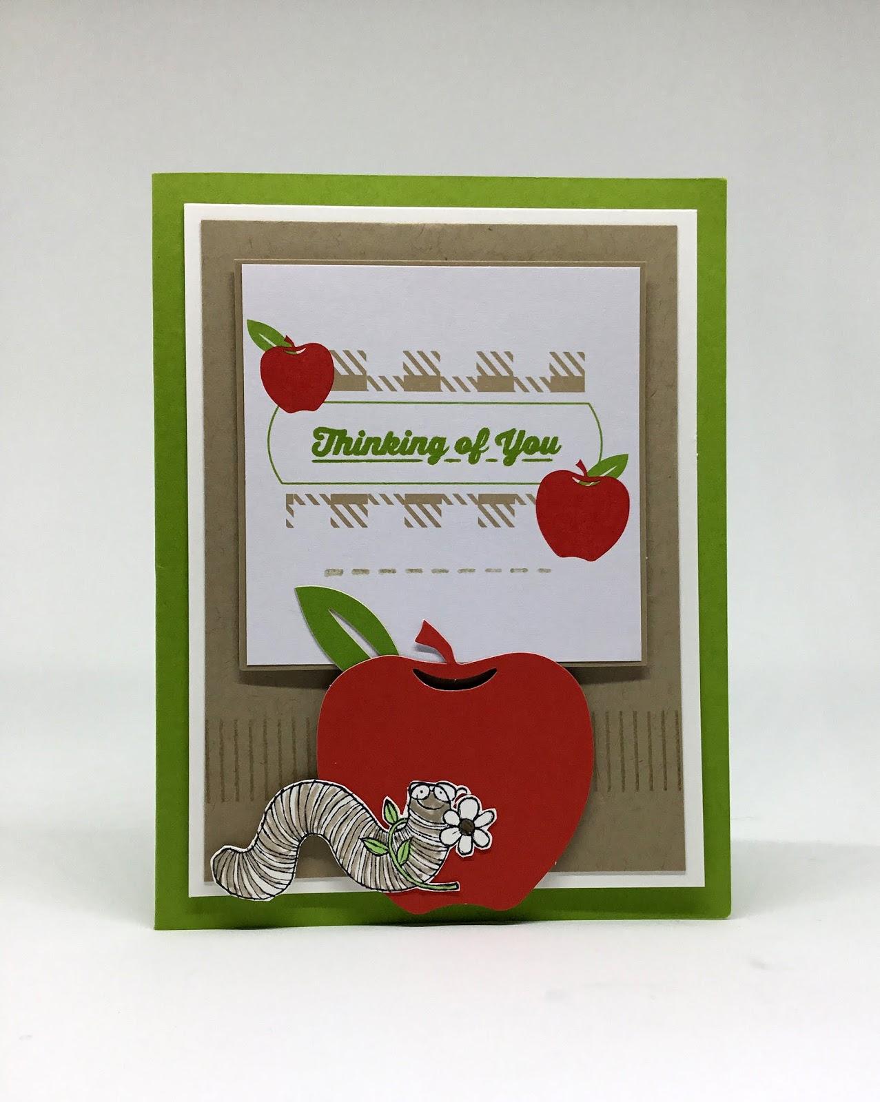 Paper Seedlings Wormy Apple