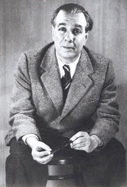 Foto de Jorge Luis Borges en la adultez