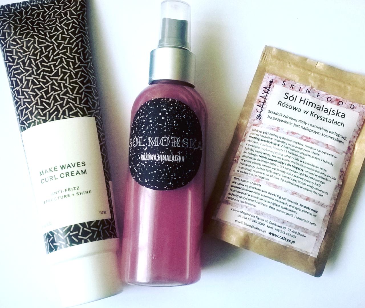 Sól do włosów - jak działa przepis DIY jak zrobić samemu