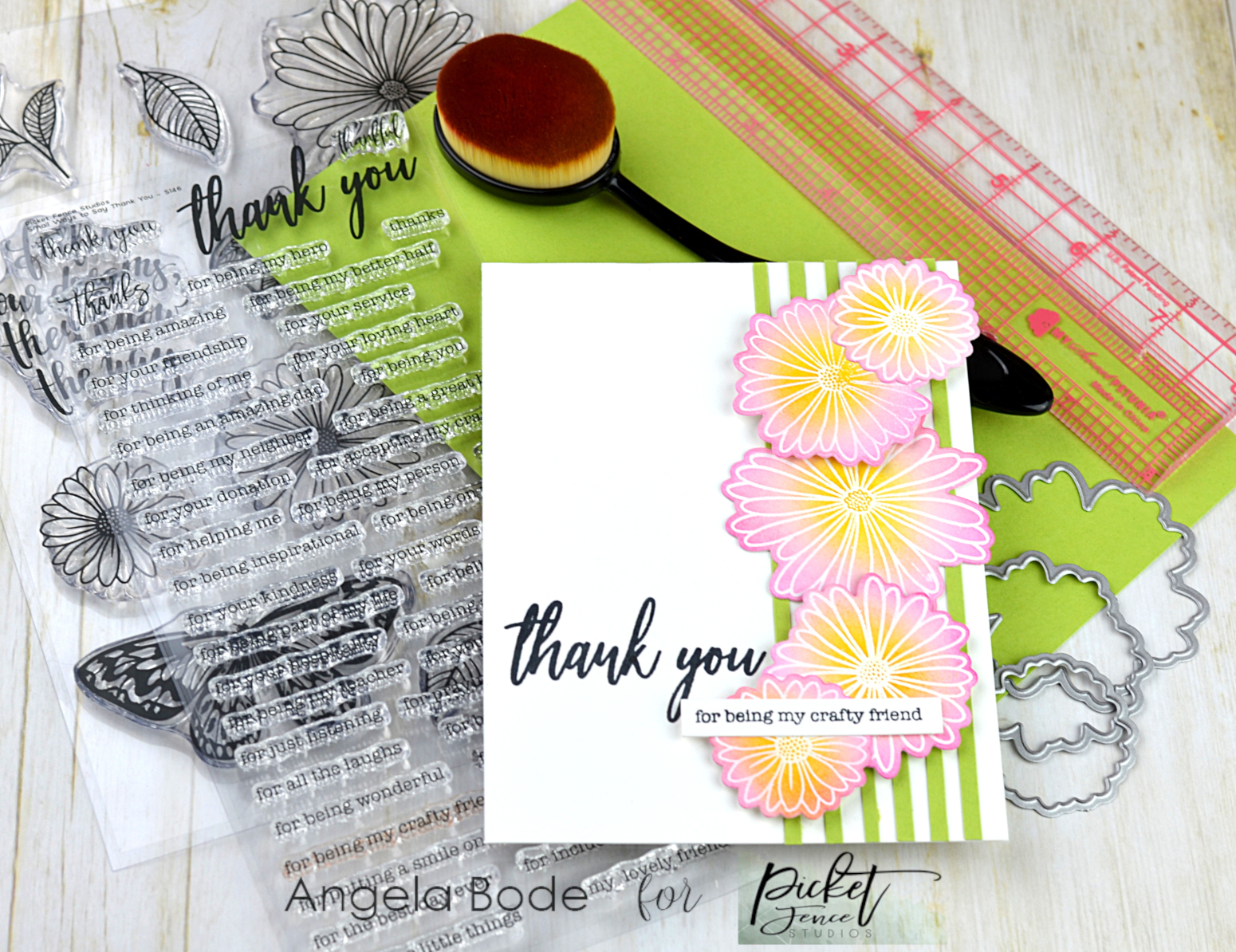 Picket Fence Studios Small Ways To Say Thank You에 대한 이미지 검색결과