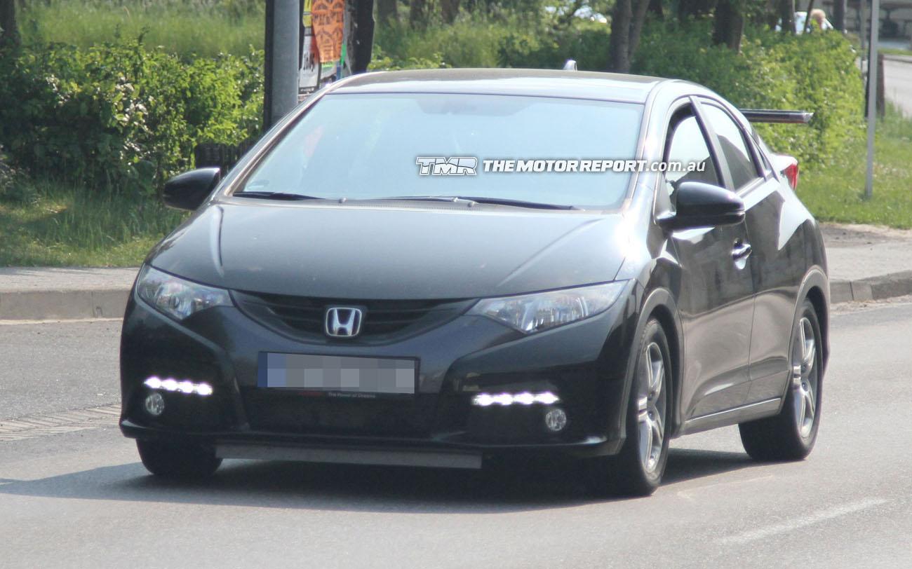 Garage Car: Spy Photos: New 2013 Honda Civic Type-R at the Nürburgring