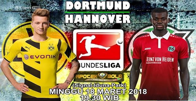 Prediksi Borussia Dortmund vs Hannover 18 Maret 2018