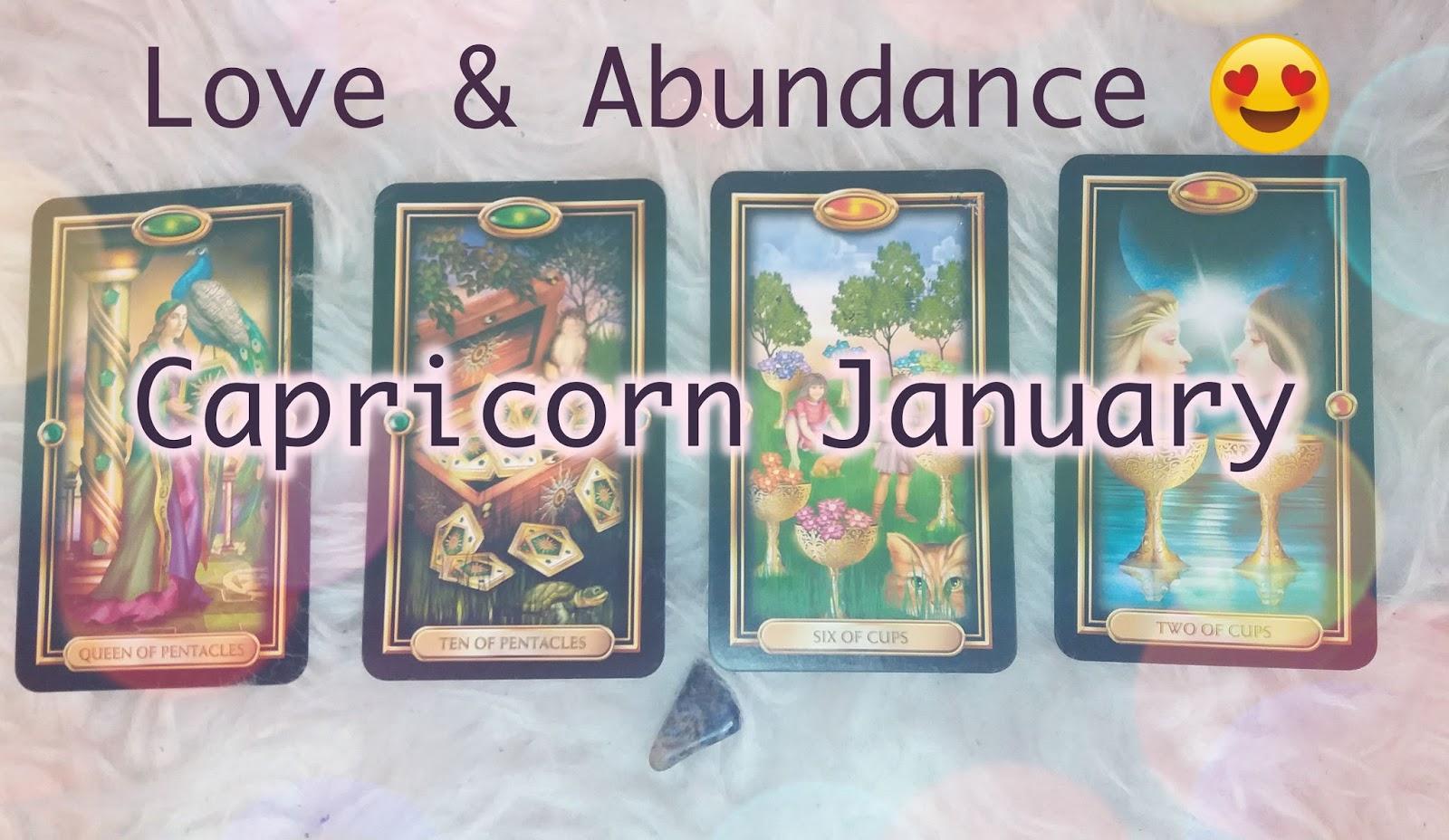 Capricorn January 2018 Love Tarot Reading! — Onar Tarot