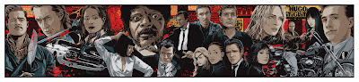 Tarantino XX Collage Giclee by Ken Taylor