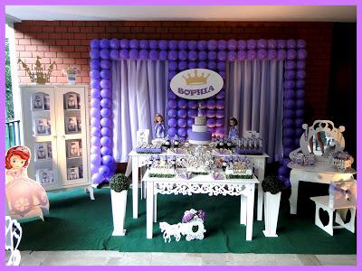 Princesa Sofia Para Festa Infantil