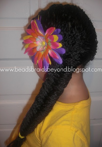 Rocking and Styling Mini Twists- Natural Hair
