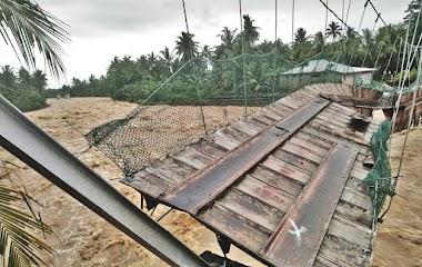 Banjir Bandang Terjang Padang, Ratusan Rumah Terendam