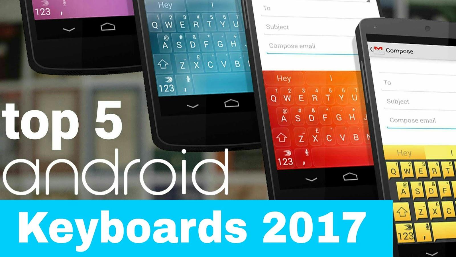 top 5 keyboards 2017