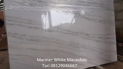 marmer import white macaubas