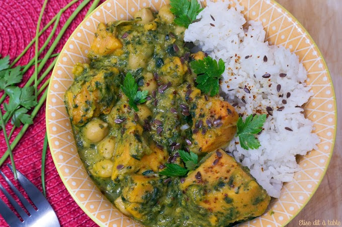 Curry végétarien de patate douce