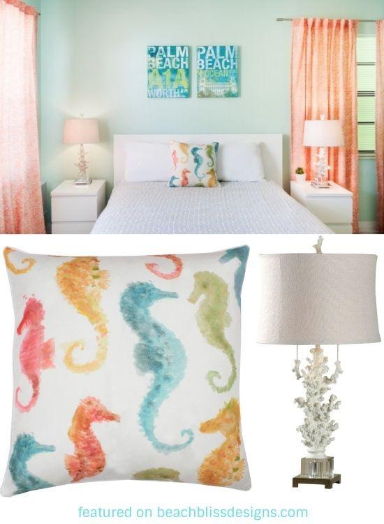 Colorful Beach Cottage Bedroom Decor Idea Beach Home Decor Design Amazing Beach Cottage Bedrooms Ideas Collection