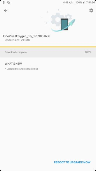 OnePlus 3 Received Android 8.0 Oreo OxygenOS Update as Closed Beta