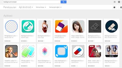 Aplikasi Backround Eraser ini dapat kamu download di playstore maupun Appstore secara gratis.