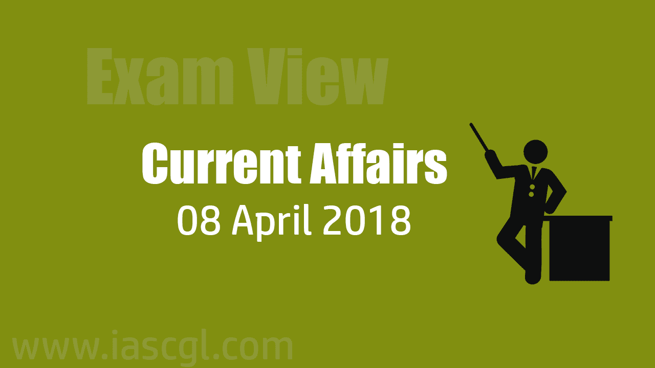 Current Affair 08 April 2018