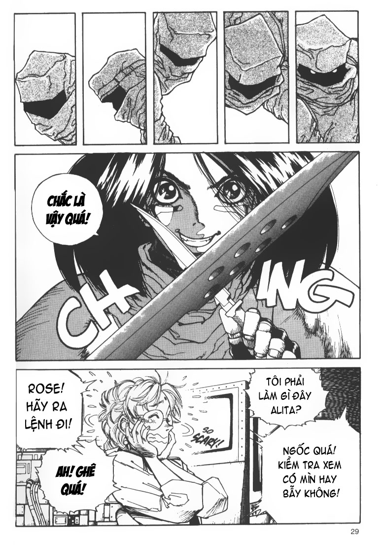 Battle Angel Alita chapter 36 trang 22