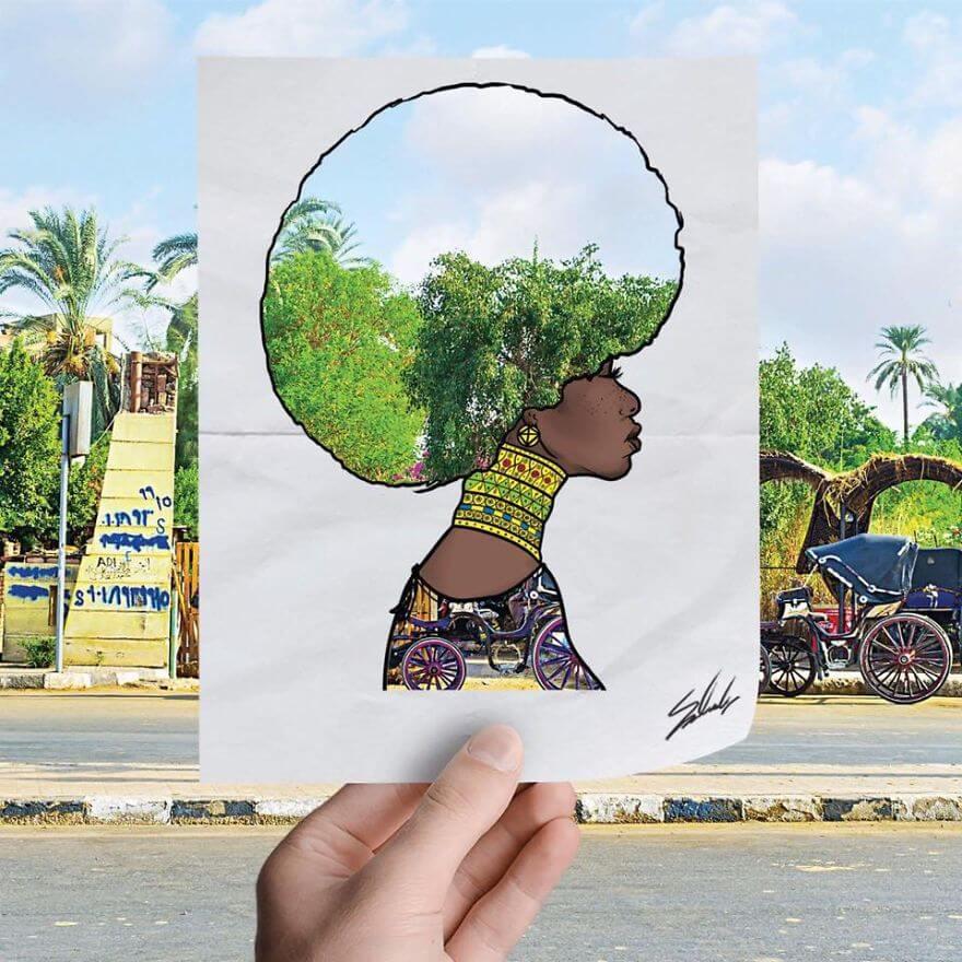 20 Amazing Fashion Cutouts Depict The Beauty Of Egypt