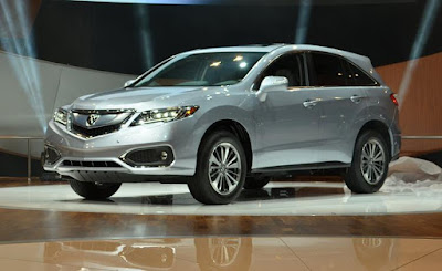 2017 acura rdx changes
