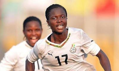 Queens winger Portia Boakye