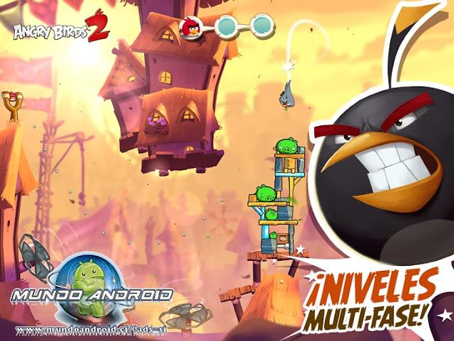 Jugabilidad de Angry Birds 2