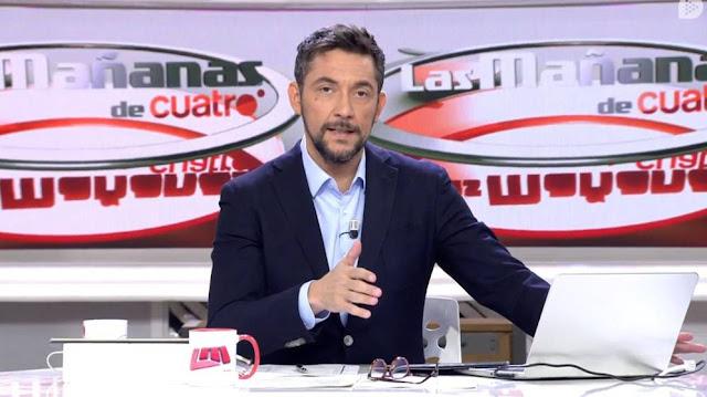 Bochorno en Cuatro tras filtrar el motivo de la cancelación de 'Las Mañanas'