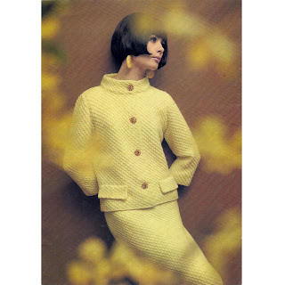Misses Two Piece Suit Knitting Pattern