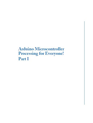 Arduino PDF: Arduino Microcontroller Processing for Everyone Part I