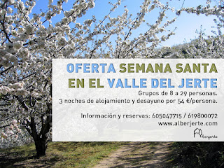 OFERTA SEMANA SANTA EN EL VALLE DEL JERTE